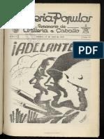 Artillería Popular (semanario de artillería a caballo) 19370415