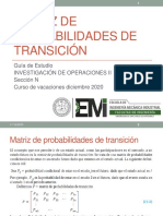 3.3 Matriz de probabilidades de transición 17122020