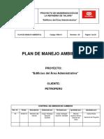 Plan de Manejo Ambiental JJC-Cosapi