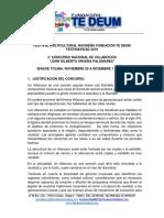 BASES DEL SEGUNDO CONCURSO NACIONAL INFANTIL Y JUVENIL DE VILLANCICOS