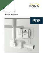 FONA X70 Manuale operatore ITA