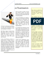Newsletter Toastmaster Puerto Rico (Feb 2011)