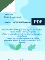 Tarea No.1 - Diseño Organizacional