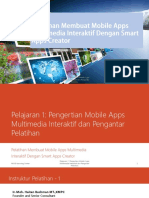 01 Pengertian Mobile Apps Multimedia Interaktif dan Pengantar Pelatihan