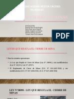 LEY  DE CIERRE DE MINAS.pptx