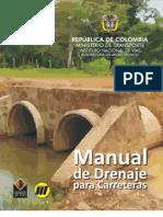 MANUAL DE DRENAJE-INVIAS