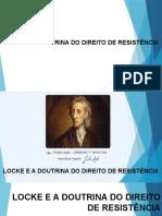 LOCKE E A DOUTRINA DO DIREITO DE RESISE?NCIA