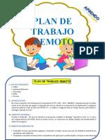 3. PLAN DE TRABAJO REMOTO