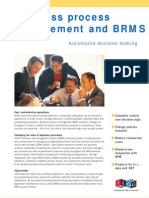 Business process management and BRMS