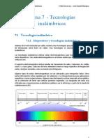 Tema 7 - Cisco - Tecnologias Inalambricas