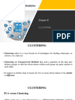 Chapter 8 - Clustering