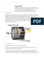 How electricity is generated.docx