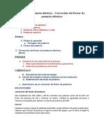 Factor de potencia eléctrica - Corrección del Factor de potencia eléctrica