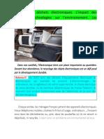 Sem.2 (4) Limpact des nouvelles technologies sur lenvirronement