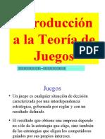 PPT 1 Introduccion a la Teoria de juegos. (1)