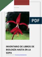 INVENTARIO DE LIBROS DE BIOLOGÍA HASTA EN LA SOPA 2