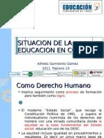 Educación en Manizales febrero 2011