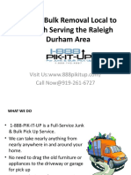 Looking for Junk Removal Companies in North Carolina
