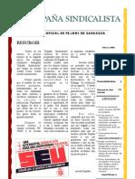 España Sindicalista nº 0