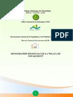 Monographie régionale de la wilaya de Nouakchott_Fr