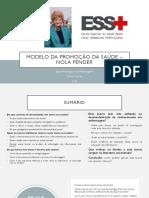 Modelo da Promoção da Saúde – Nola Pender