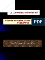 Diaporama Contentieux administratif 2009-2010
