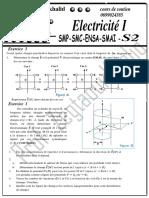 TD N1 electricite 1