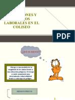 CONDICIONES Y RIESGOS LABORALES EN EL COLISEO