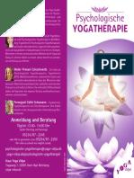 Psychologische Yogatherapie 2021