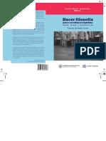 Hacer filosofía para y con niñxs en Argentina - de la Fuente y Morales (editoras)