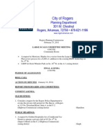 Rogers Agenda 2.15.11