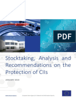 Stocktaking- Analysis and Recommendations on the protection of CIIs