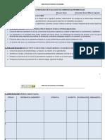 Tabla Matriz de Evaluacion por Competencias