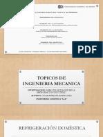 áreas de aplicación en la refrigeración industrial PowerPoint