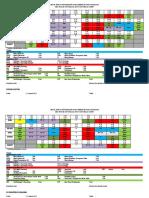 Jadual Waktu Persendirian Bimbingan & Kaunseling Tahun 2015