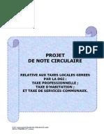 Note Circul Fiscalité Locale