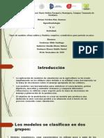 Tipos de modelo clima-cultivo