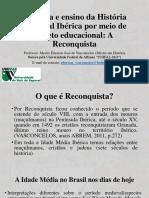 A Reconquista - Univas