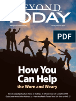 Beyond Today Magazine -- January/February 2021
