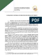 CATEQUESE E LITURGIA NO PROCESSO DE INICIAÇÃO CRISTÃ