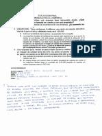 Examen Final - Finanzas