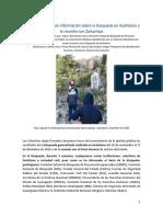 Colectivos informan resultados de la Búsqueda en Acámbaro