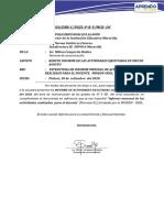 INFORME N° 006 - 2020 CORRESPOND. AL MES DE SETIEMBRE DIRE Y SUBDIRE 38990 A