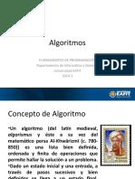 Algoritmos (2014-2)