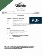 Jefferson County Planning Board agenda Dec. 29, 2020