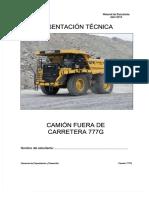 Manual del estudiante camión 777G