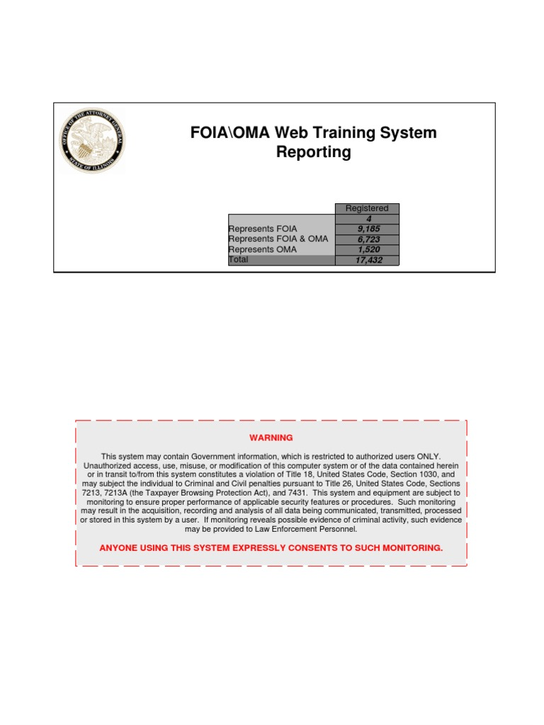 All Illinois FOIA + OMA Officers