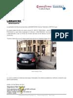 Ejemplo recepción certificada (MMS) castellano