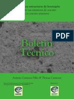 Boletim Técnico 3 - Fissuração nas Estruturas de Concreto - Carmona Filho e Carmona - ALCONPAT 2013