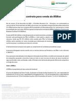Petrobras (PETR4) vende área de biodiesel por R$ 332 milhões